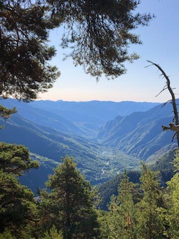 Des paysages magnifiques...